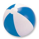 beachball blauw wit