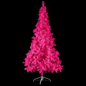 kerstboom fuchsia 210cm