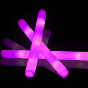 LED FOAM STICK ROZE/PAARS