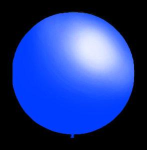 DECORATIEVE-BALLONNEN-30CM-BLAUW