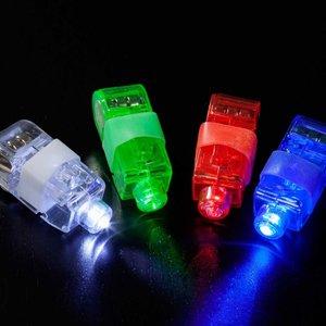 VINGER LED LAMPJES IN 4 KLEUREN ( LED RINGEN )